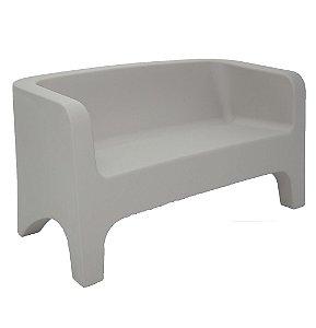 Sofa Tonic em Polietileno Casa Delta Tramontina Cinza 75 Cm