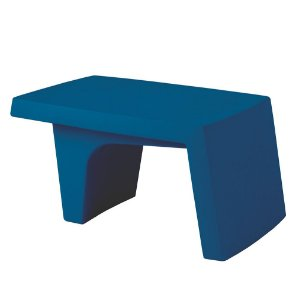 Mesa de Centro em Polietileno Casa Delta Tramontina Azul 40 Cm