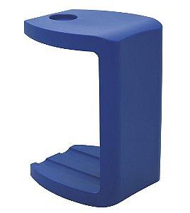 Banco com Porta Copos Casa Delta Tramontina Azul 60 Cm