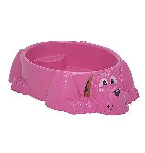 Piscina Infantil Aquadog Tramontina Rosa 95 Cm