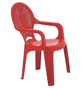 Cadeira Infantil Catty Tramontina Vermelho 37 Cm