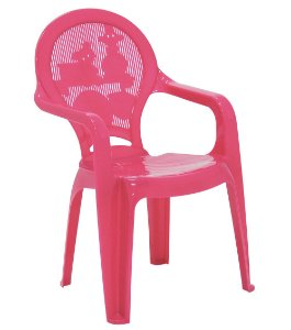 Cadeira Infantil Catty Tramontina Rosa 37 Cm