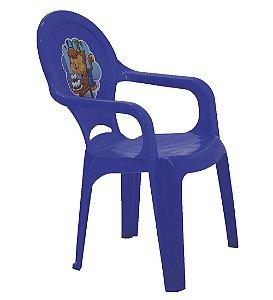 Cadeira Infantil Catty Tramontina Azul 37 Cm