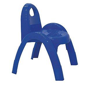 Cadeira Infantil Popi Tramontina Azul 41 Cm