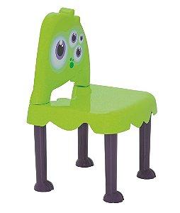 Cadeira Infantil Monster Kids Tramontina Verde 30 Cm