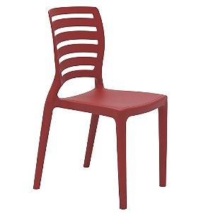 Cadeira Infantil Sofia Tramontina Vermelho 39 Cm