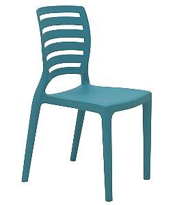Cadeira Infantil Sofia Tramontina Azul 39 Cm
