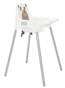Cadeira para Refeicao Teddy Tramontina Branco 59 Cm