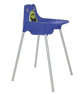 Cadeira para Refeicao Monster Tramontina Azul 59 Cm
