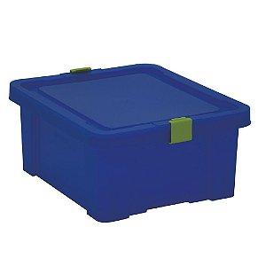 Caixa Organizadora Kids 17l Tramontina Azul 19 Cm