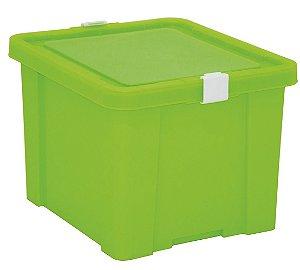 Caixa Organizadora Kids 30l Tramontina Verde 30 Cm