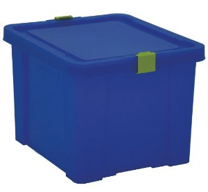 Caixa Organizadora Kids 30l Tramontina Azul 30 Cm