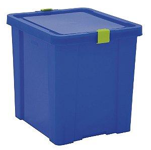 Caixa Organizadora Kids 42l Tramontina Azul 40 Cm