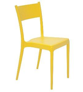 Cadeira em Polipropileno Summa Tramontina Amarelo