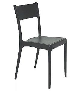Cadeira em Polipropileno Summa Tramontina Preto 82 Cm