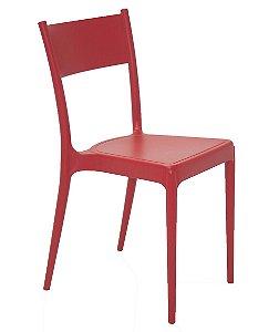 Cadeira em Polipropileno Summa Tramontina Vermelho 82 Cm