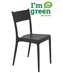 Cadeira em Polipropileno Eco Summa Tramontina Preto 82 Cm