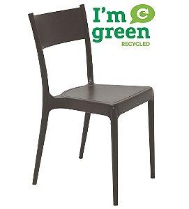 Cadeira em Polipropileno Eco Summa Tramontina Marrom 82 Cm