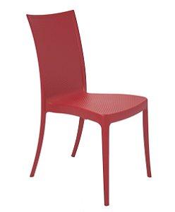 Cadeira em Polipropileno Summa Tramontina Vermelho 88 Cm