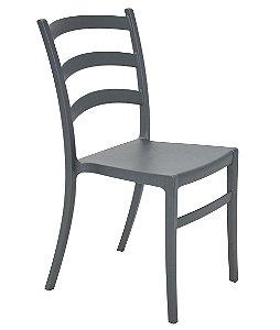 Cadeira em Polipropileno Summa Tramontina Grafite 50 Cm