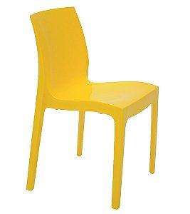Cadeira Sem Bracos em Polipropileno Summa Tramontina Amarelo 80 Cm