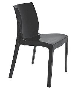 Cadeira Sem Bracos em Polipropileno Summa Tramontina Preto 80 Cm