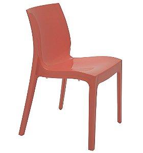 Cadeira Sem Bracos em Polipropileno Summa Tramontina Coral 80 Cm
