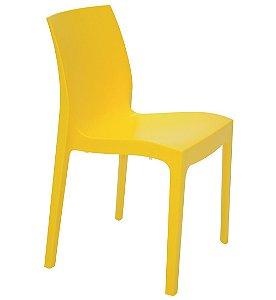 Cadeira Satinada Sem Bracos Summa Tramontina Amarelo 80 Cm