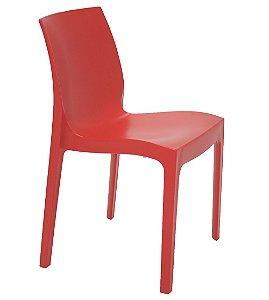Cadeira Satinada Sem Bracos Summa Tramontina Vermelho 80 Cm