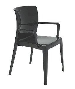 Cadeira em Polipropileno Summa Tramontina Preto 83 Cm