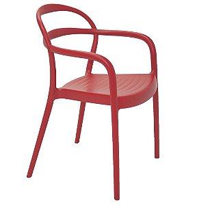 Cadeira em Polipropileno Summa Tramontina Vermelho 79 Cm