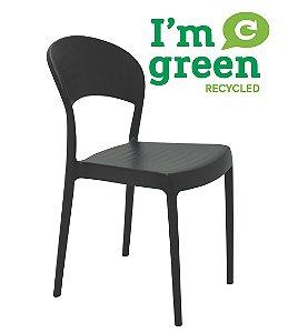 Cadeira em Polipropileno Eco Summa Tramontina Preto 80 Cm