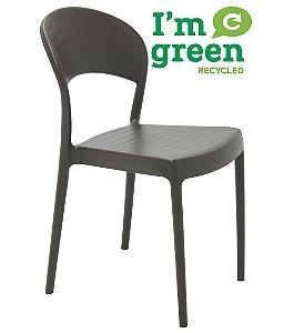 Cadeira em Polipropileno Eco Summa Tramontina Marrom 80 Cm