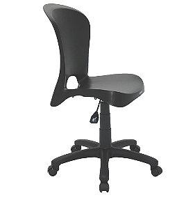 Cadeira com Rodizio em Polipropileno Summa Tramontina Preto 60 Cm