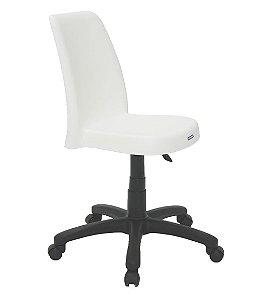 Cadeira com Base Rodizio Summa Tramontina Branco 88 Cm