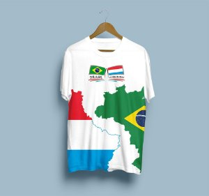 Camisa Esportiva Brasil Luxemburgo