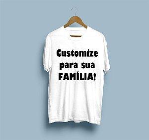 Customize a sua própria camisa