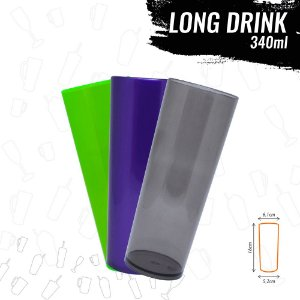 Long Drink 340ml - 100 unidades