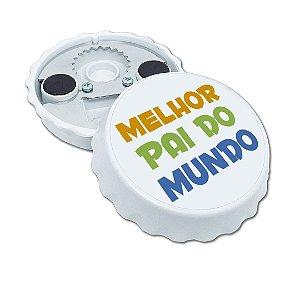 Abridor De Garrafas Imã Personalizado Dia Dos Pais Mod. 03