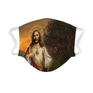 Máscara Personalizada Jesus Cristo (023)