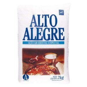 AÇÚCAR CRISTAL ALTO ALEGRE 2KG