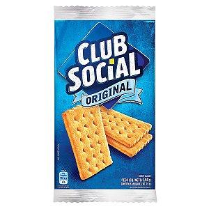 BISCOITO CLUB SOCIAL 144GR TRADICIONAL
