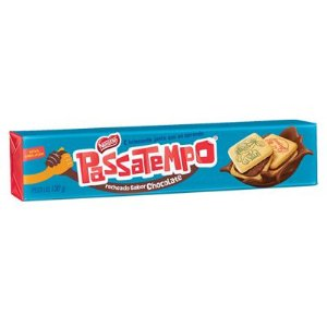 BISCOITO PASSATEMPO 130GR RECHEADO CHOCOLATE