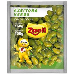 AZEITONA ZAELI 150GR SACHET C/ CAROÇO