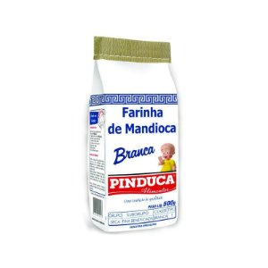 FARINHA DE MANDIOCA PINDUCA 500GR BRANCA