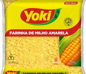 FARINHA DE MILHO YOKI 500GR AMARELA
