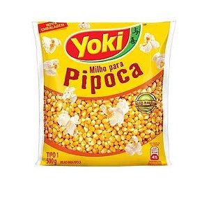 PIPOCA YOKI 500GR NACIONAL