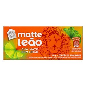 CHÁ MATTE LEÃO C/25 LIMÃO