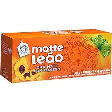 CHÁ MATTE LEÃO C/25 PÊSSEGO