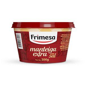MANTEIGA FRIMESA COM SAL 200GR